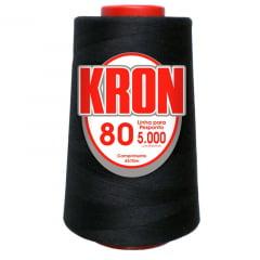 Linha para Pesponto fio 80 - Kron -  5000 jardas