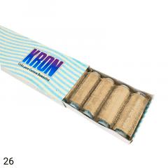 Linha para Costura Doméstica KRON - Retrós C/ 182,8 metros - Caixa com 10 un