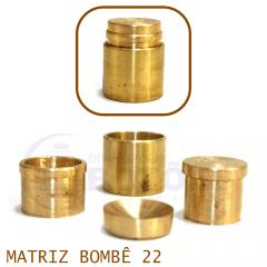 Matriz para Botão Bombê - Unidade - Nº 22 - 22 mm