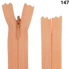 Zíper Invisível - Reforçado - Fixo - Nº3 - 18cm