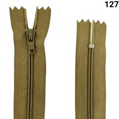 Zíper Nylon Fino - Fixo - Nº3 - 12cm