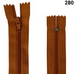 Zíper Nylon Fino - Fixo - Nº3 - 15cm