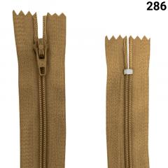 Zíper Nylon Fino - Fixo - Nº3 - 40CM