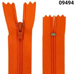 Zíper Nylon Fino - Fixo - Nº3 - Corrente - 15cm