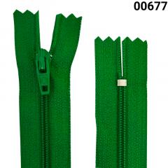 Zíper Nylon Fino - Fixo - Nº3 - Corrente - 18cm