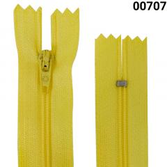 Zíper Nylon Fino - Fixo - Nº3 - Corrente - 30cm