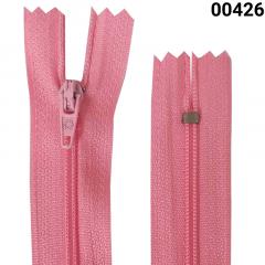 Zíper Nylon Fino - Fixo - Nº3 - Corrente - 40cm
