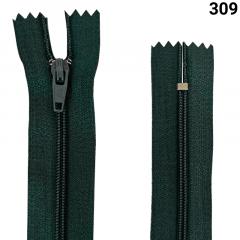 Zíper Nylon Fino - Fixo - Nº3 - 18cm