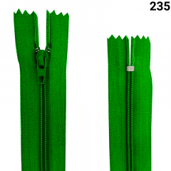 Zíper Nylon Fino - Fixo - Nº3 - 20CM