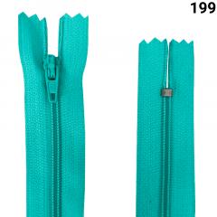Zíper Nylon Fino - Fixo - Nº3 - 30CM