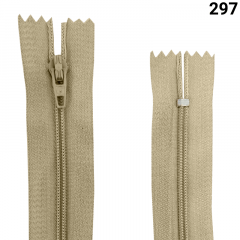 Zíper Nylon Fino - Fixo - Nº3 - 60CM
