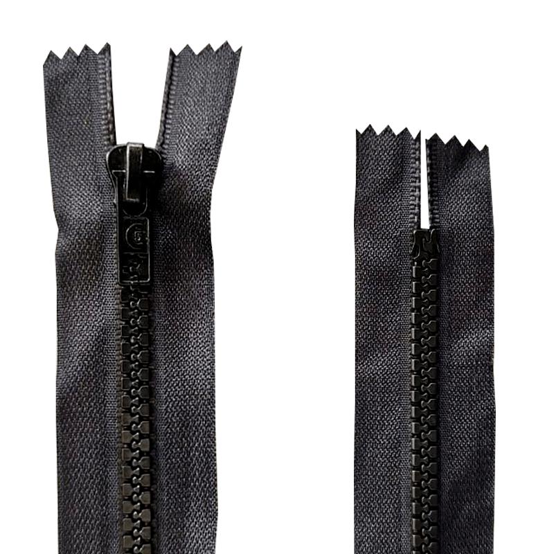 Zíper Dentado Jacaré FIXO - 1 und - 10cm