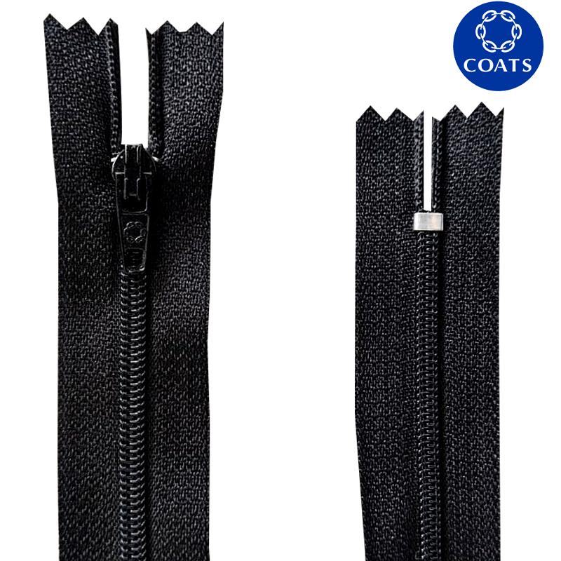 Zíper Nylon Fino - Coats Corrente - 18cm